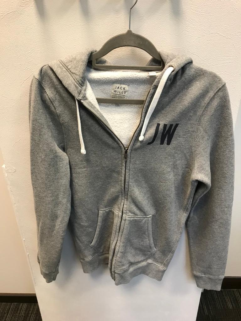 Jack Wills zipped hoody