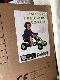 Go cart BNIN box is unopened