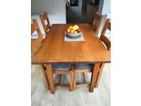 Dining Table, chairs & dresser