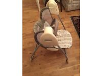 Swinging baby chair x2
