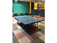 table tennis table stiga