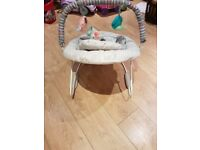 Bright Starts Cosy Kingdom vibrating baby chair