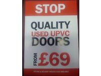 Used UPVC doors from £69.00