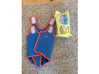Neoprene swimming over vest