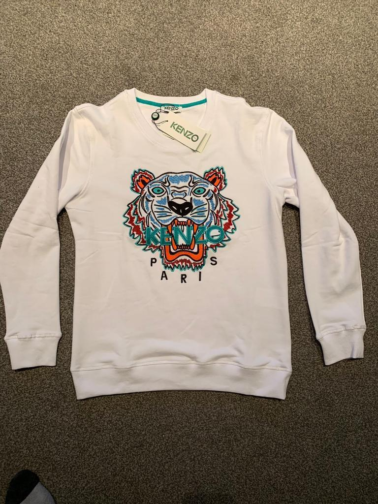 f676154028a Brand new kenzo jumper sweatshirt size large | in Clydebank, West ...