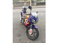 Honda 125cc cbr 2 tyres bonus