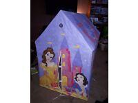Disney princess fabric wendy house