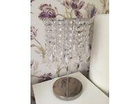 IKEA Glass & Chrome Table Lamp - 2 available