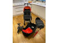 Bugaboo pram with accessories