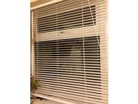 Dunelm mill white Venetian blinds