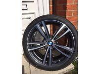 Brand new Genuine Bmw 442M alloy wheels