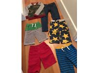 MINI BODEN - BOYS - VARIETY OF SHORTS, PAIR OF JEANS AND SWEATSHIRT (AGED 6 - 8)