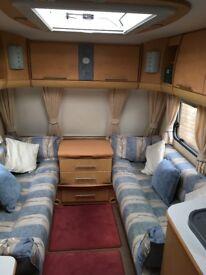 2007 Bailey Pageant 6 series Monarch 2 berth caravan with ENTIRE contents
