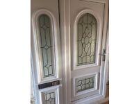 PVC door and side screen