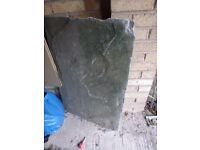 FREE Slate slab 90cm by 60cm