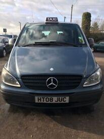 Mercedes Vito - 9 Seater Hackney Taxi - WHEELCHAIR ACCESS