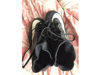 Nike Mercurial football sock boots size uk 1.5