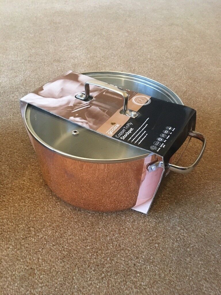 X5 Brand New Copper Pots In Purley London Gumtree
