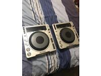 Cdj 800 mk2 x2 pair fully working