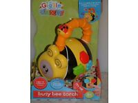 Giggle and Grow, Busy Bee Torch. Babies toy.