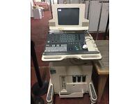 Pregnancy ultrasound machine with manuals