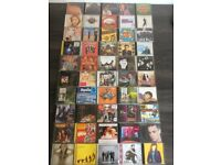50 various music cds