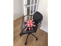 Ikea GREGOR Swivel chair with cushions - Black/grey - HURRY SALE ENDS SOON!