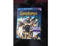 Goosebumps Blu Ray DVD film
