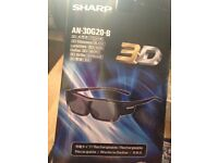 3D rechargeable glasses