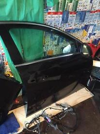 Vauxhall insignia front & back o/s doors in black