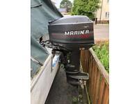 Boat plus 30 mariner engine plus trailer