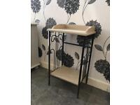 Small telephone hall table