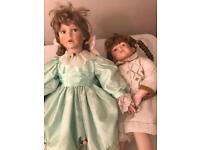 7 Ashton drake dolls open to offers