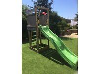 Jungle Gym Climbing Tower/Slide