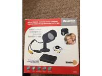 CCTV camera and recorder