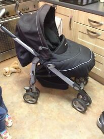 Silver cross 3D pram/pushchair from birth