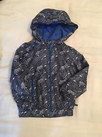 Brand new but without tags - M&S waterproof jacket 4-5 yrs