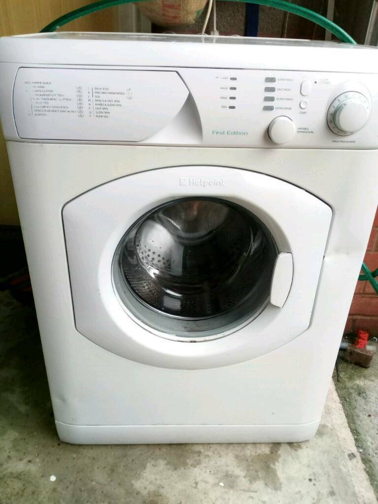 Hotpoint first edition washing machine | in Exeter, Devon | Gumtree