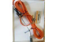 roofers gas torch Sievert 86/88 Pro Gas Torch Kit,10m hose,safety valve regulator