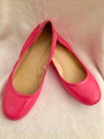 LIKE NEW Beautiful Cole Haan Pink Ballet Flats EUR 38 UK 5