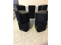 Bose Duel Cube Speakers.....X5