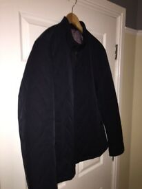 Mens Ted Baker quilted Coat - Navy (Ted Baker size 7 or XXL / Actual fit size is more like a XL)