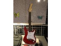 Stagg Stratocaster guitar and amp £100 cash