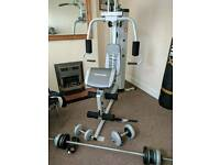 Maximuscle multigym & free weights
