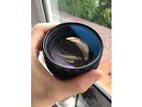 Samyang 85MM/1.5 cine lens - Canon mount