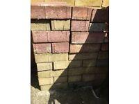 Second hand block paving bricks