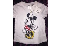 Baby girls mini mouse top
