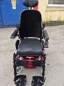 Salsa M power wheelchair with tilt