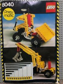 Lego 8040 - Building Set (Pneumatic Truck)