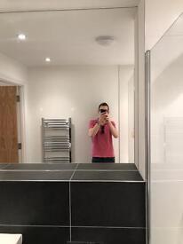 NEW large mirror (frameless) 1725mm wide x 1120mm high